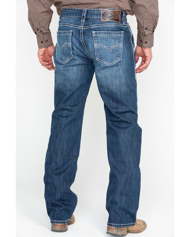 Rock & Roll Cowboy Men's Reflex Double Barrel Straight Leg Jeans, Blue, hi-res