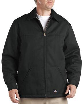 Dickies Insulated Twill Jacket - Big & Tall, Black, hi-res