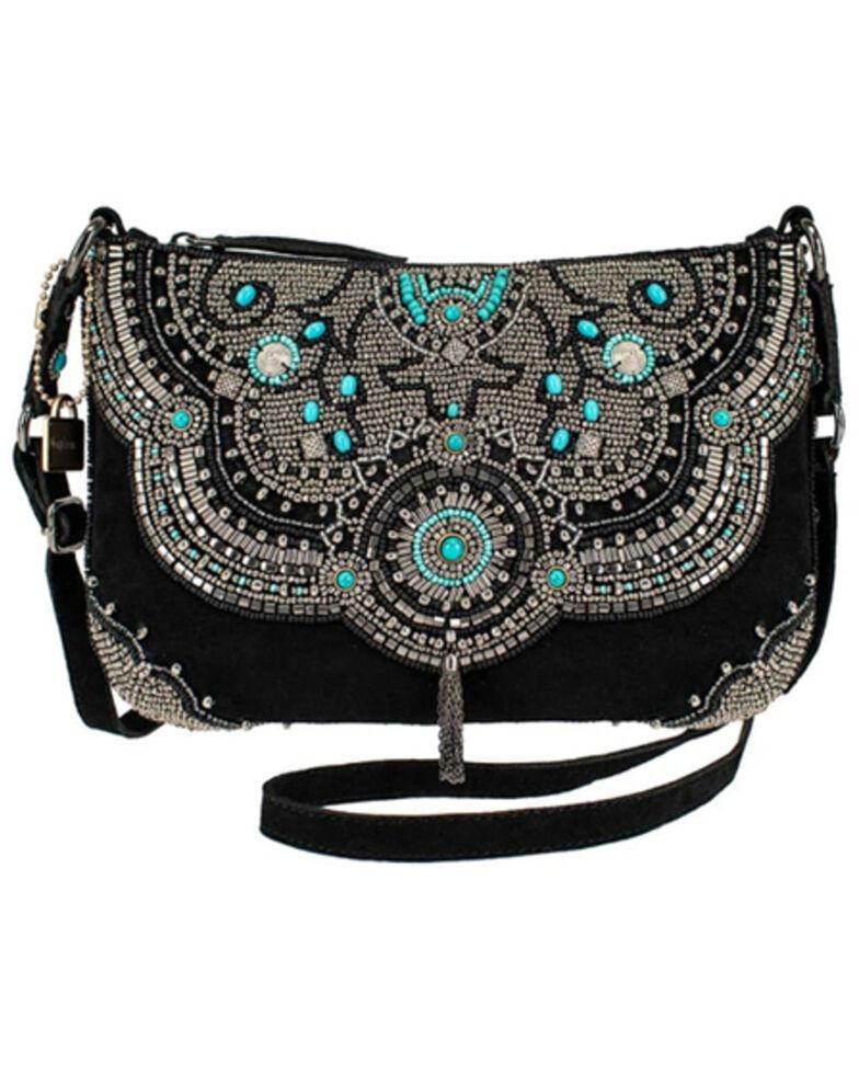 Mary Frances Women's Trail Blazer Handbag, Black, hi-res