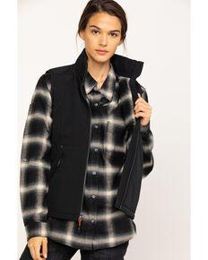 Dovetail Workwear Women's  Zip Front Vest , Black, hi-res