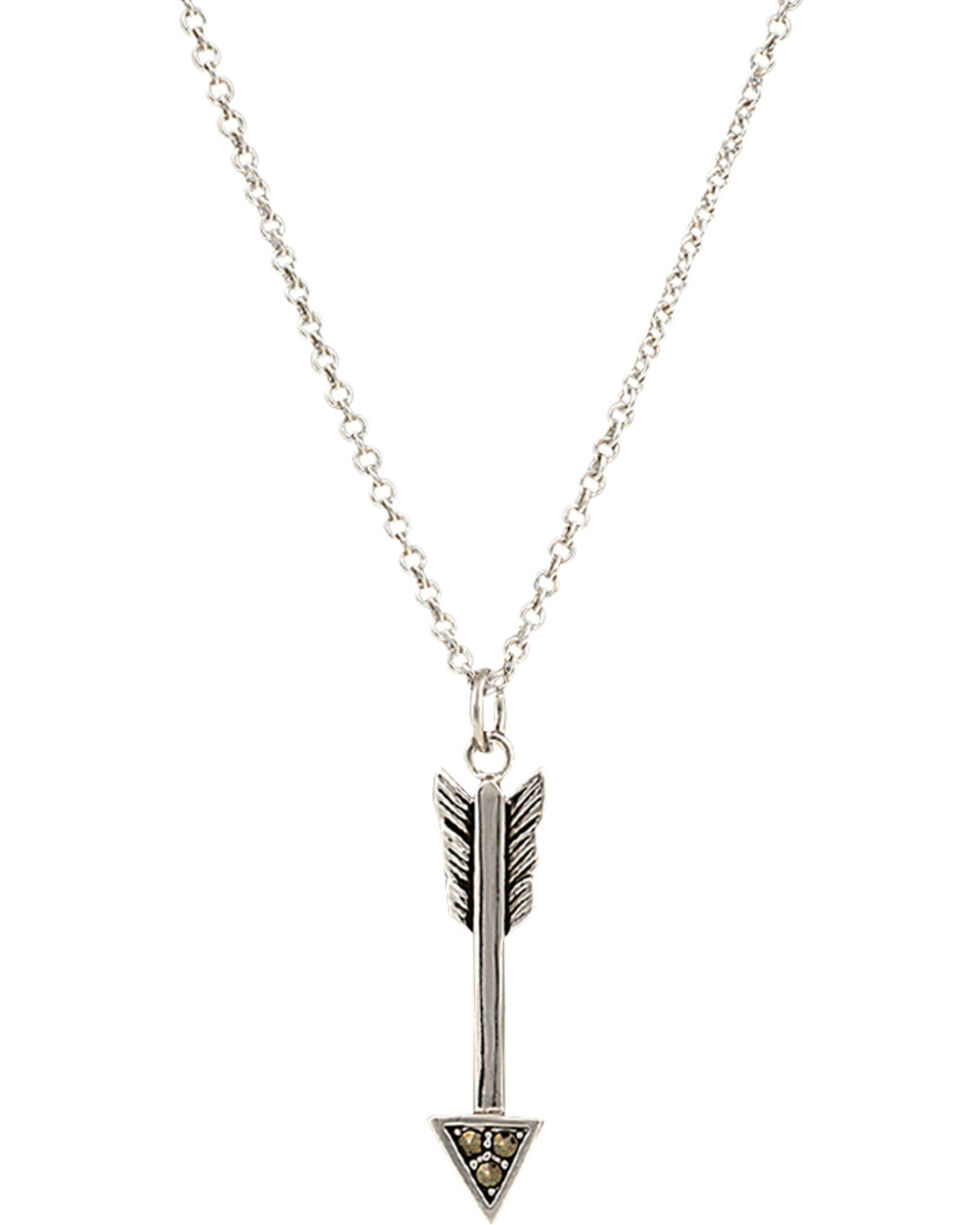 Montana Silversmiths Sparks Will Fly True Arrow Necklace, Silver, hi-res