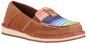 Ariat Women's Serape Cruiser Shoes, Brown, hi-res