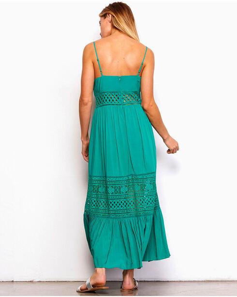Jack by BB Dakota Women's Green Kaia Maxi Dress , Medium Green, hi-res