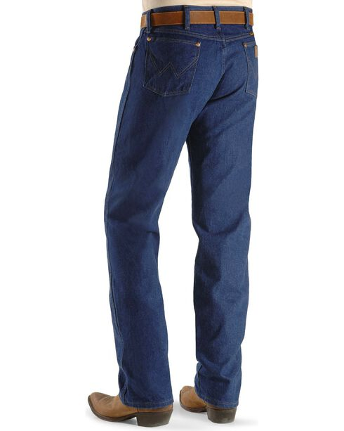 Wrangler Men's 13MWZ Prewashed Regular Fit Jeans - Tall, Indigo, hi-res
