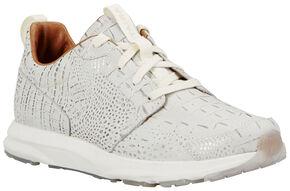 Ariat Women's Electric Croc Fusion Athletic Shoes , Black, hi-res