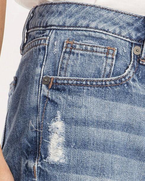 Miss Me Women's Indigo Break The Rules Shorts , Indigo, hi-res