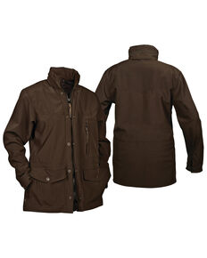 STS Ranchwear Boys' Youth Brazos Softshell Jacket , Brown, hi-res