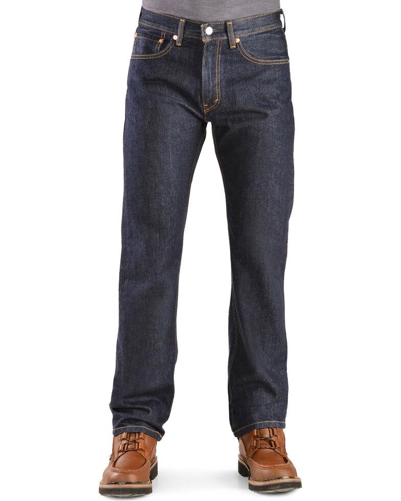 Levi's 505 Jeans - Prewashed Regular Fit, Rinsed, hi-res