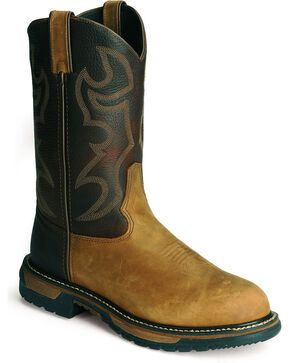 Rocky Branson Roper Work Boots, Brown, hi-res