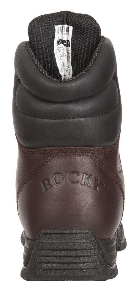 Rocky Men's MobiLite Steel Toe Waterproof Oil-Resistant Work Boots, Copper, hi-res