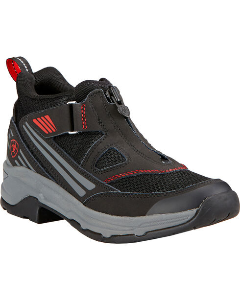 Ariat Women's Maxtrax UL Zip Riding Shoes, Black, hi-res