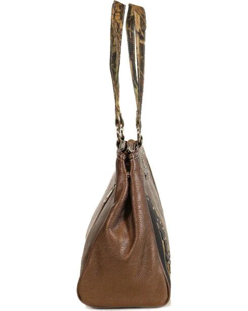 Way West Women's Camo Overlay Concealed Carry Handbag, Camouflage, hi-res