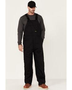 Ariat Rebar Men's Black Duracanvas Stretch Insulated Work Bib Overalls , Black, hi-res