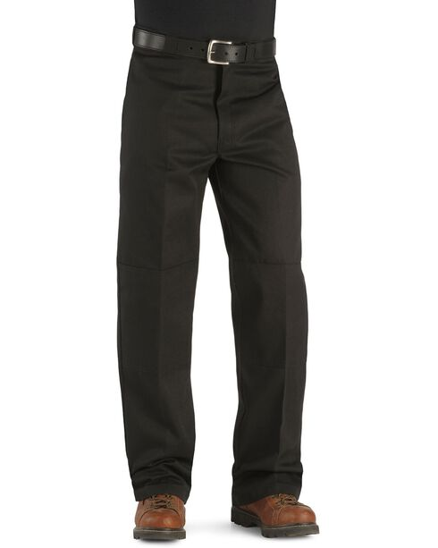 Dickies ® Loose Fit Double Knee Work Pants - Big & Tall, Black, hi-res