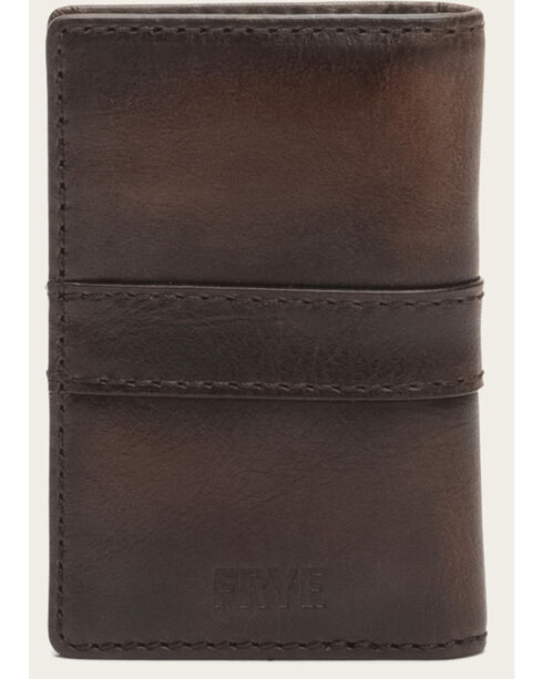 Frye Men's Oliver Tall Billfold Wallet , Dark Brown, hi-res