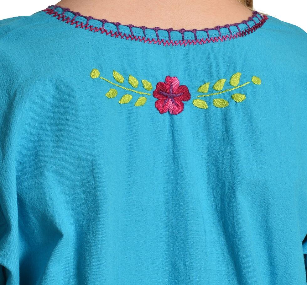 Boho Jane Blossom Top, Blue, hi-res