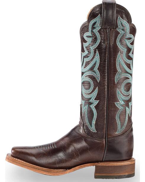 Justin Women's Brown Bent Rail Katia Cowgirl Boots - Square Toe, Brown, hi-res
