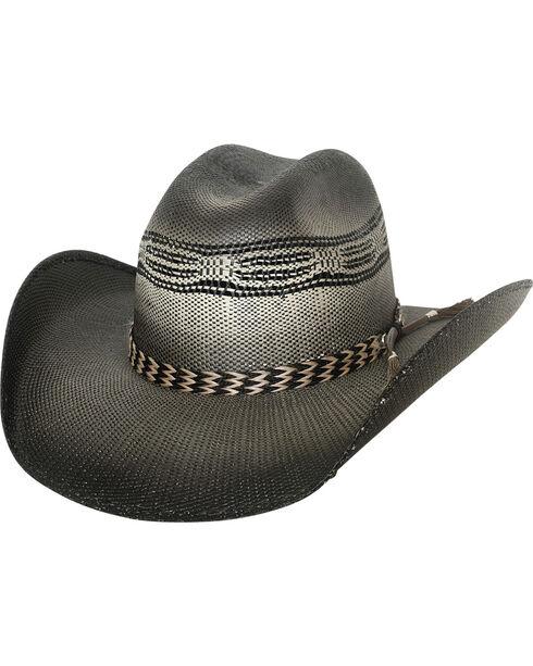 Bullhide Raising Sand Horsehair Band Straw Hat , Black, hi-res