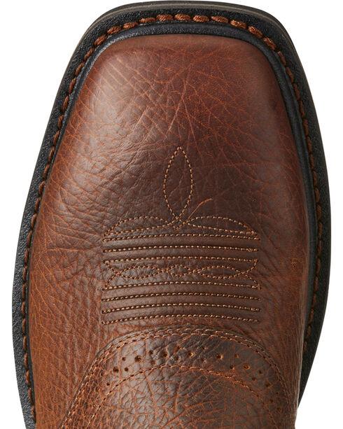 Ariat Sierra Men's Shadowland Mesa Work Boots - Soft Toe, Brown, hi-res