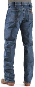 Wrangler Men's Premium Performance Advanced Comfort Mid Stone Jeans, Med Stone, hi-res