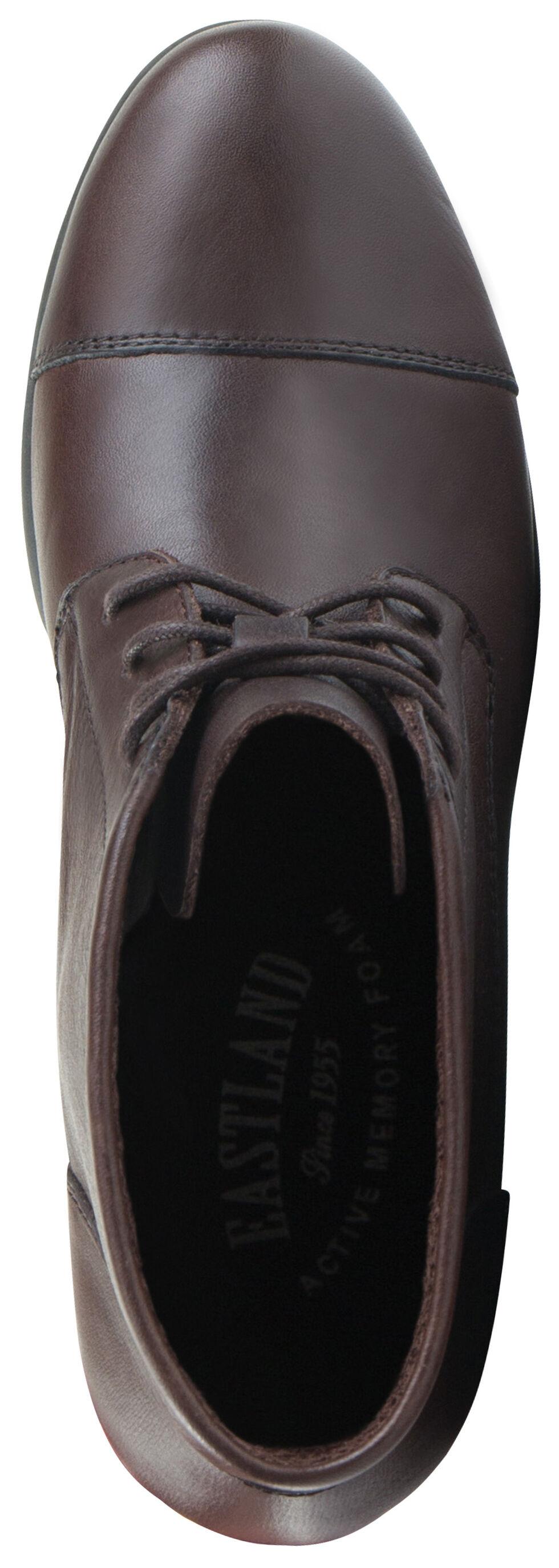Eastland Women's Brown Alexa Lace-Up Booties, , hi-res