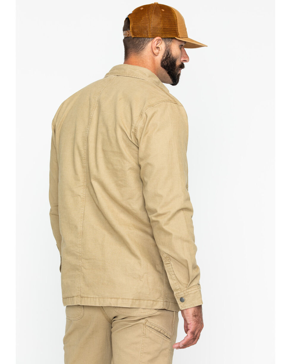 Carhartt Men's Rugged Flex Rigby Shirt Jacket , Beige/khaki, hi-res