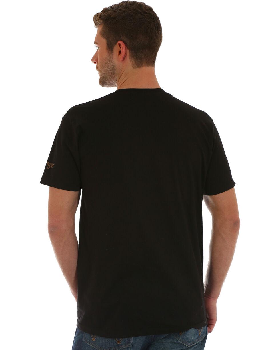 Wrangler Men's Black Steer Graphic Tee , , hi-res