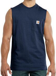 aa179e0bf Carhartt Workwear Pocket Sleeveless Shirt - Big & Tall