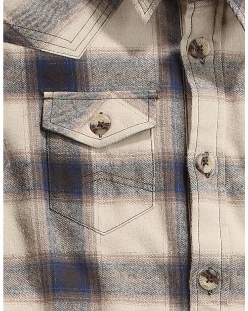 Cody James Boy's Bear Creek Flannel Shirt Jacket, Tan, hi-res
