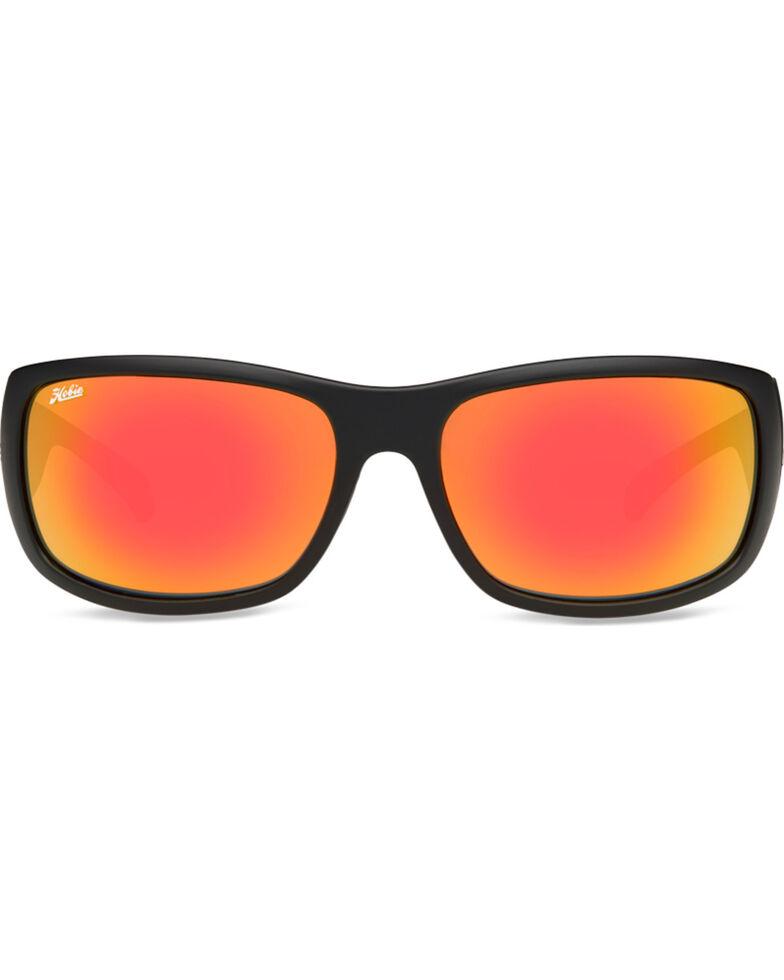 Hobie Men's Satin Black Grey Polarized Heritage Bayside Sunglasses, Black, hi-res