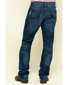 Cinch Men's Ian Performance Stretch Slim Boot Jeans , Indigo, hi-res