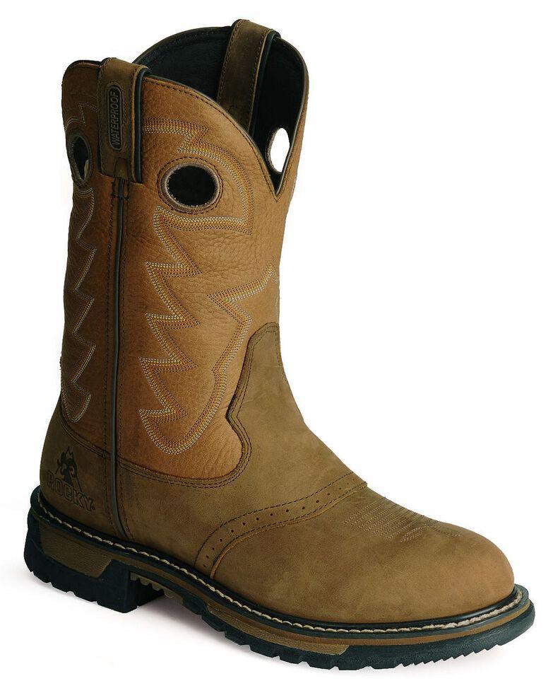 Rocky Branson Waterproof Work Boots, Aztec, hi-res