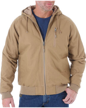 Wrangler RIGGS Workwear Men's Utility Jacket, Brown, hi-res