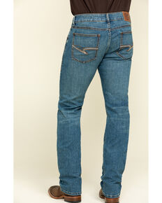 Rock 47 by Wrangler Men's Beat Stretch Slim Straight Jeans , Blue, hi-res
