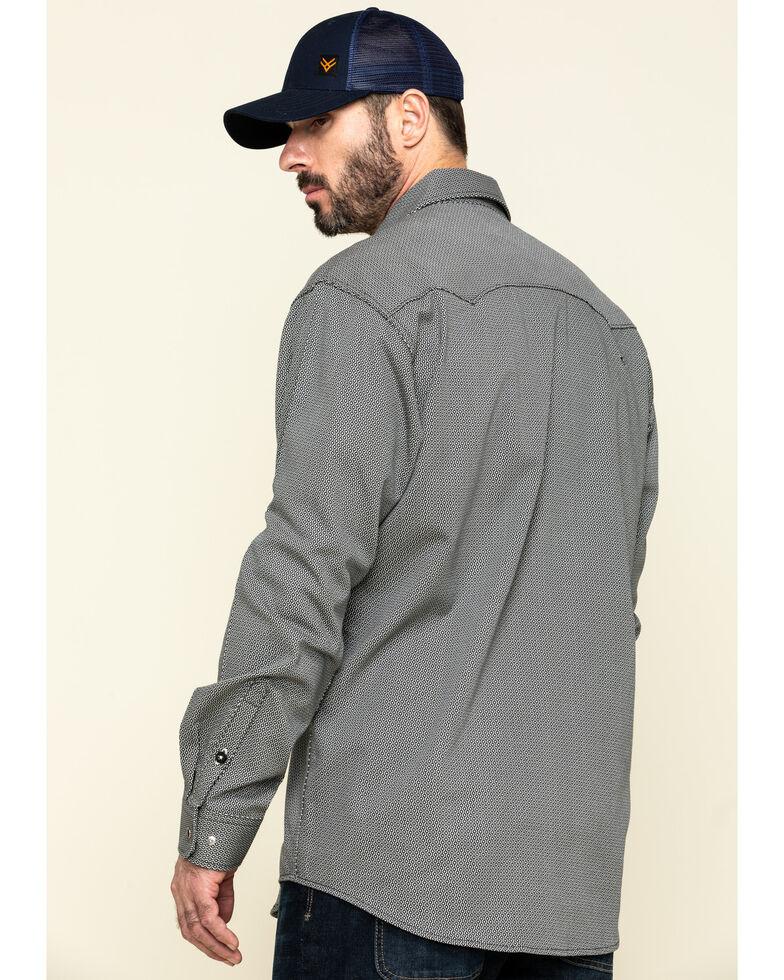 Cinch Men's FR Multi Geo Print Long Sleeve Work Shirt - Big , Multi, hi-res