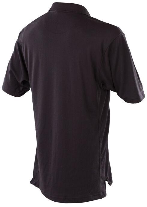Tru-Spec Men's Black 24-7 Dri-Release Polo Shirt , Black, hi-res