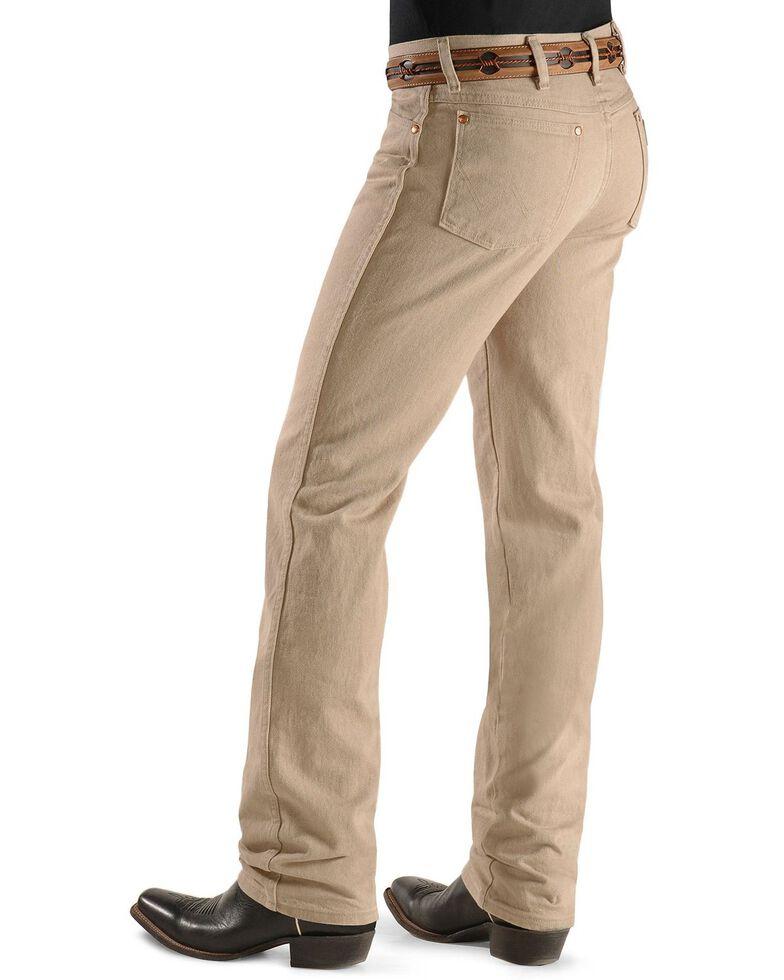 Wrangler Men's 936 Cowboy Cut Slim Fit Jeans - Prewashed Colors, Tan, hi-res