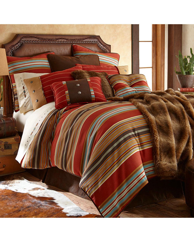 Beau HiEnd Accents Calhoun Collection Comforter Set   Super King, Multi, Hi Res