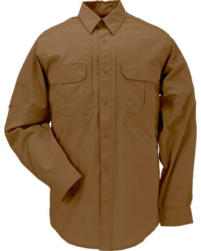 5.11 Tactical Taclite Pro Long Sleeve Shirt, Brown, hi-res