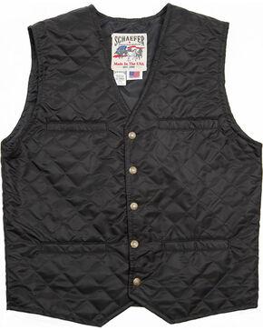 Schaefer Outfitter Men's Black Canyon Vest , Black, hi-res