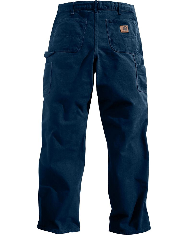 Carhartt Washed Duck Work Dungaree Utility Pants - Big & Tall, Midnight, hi-res