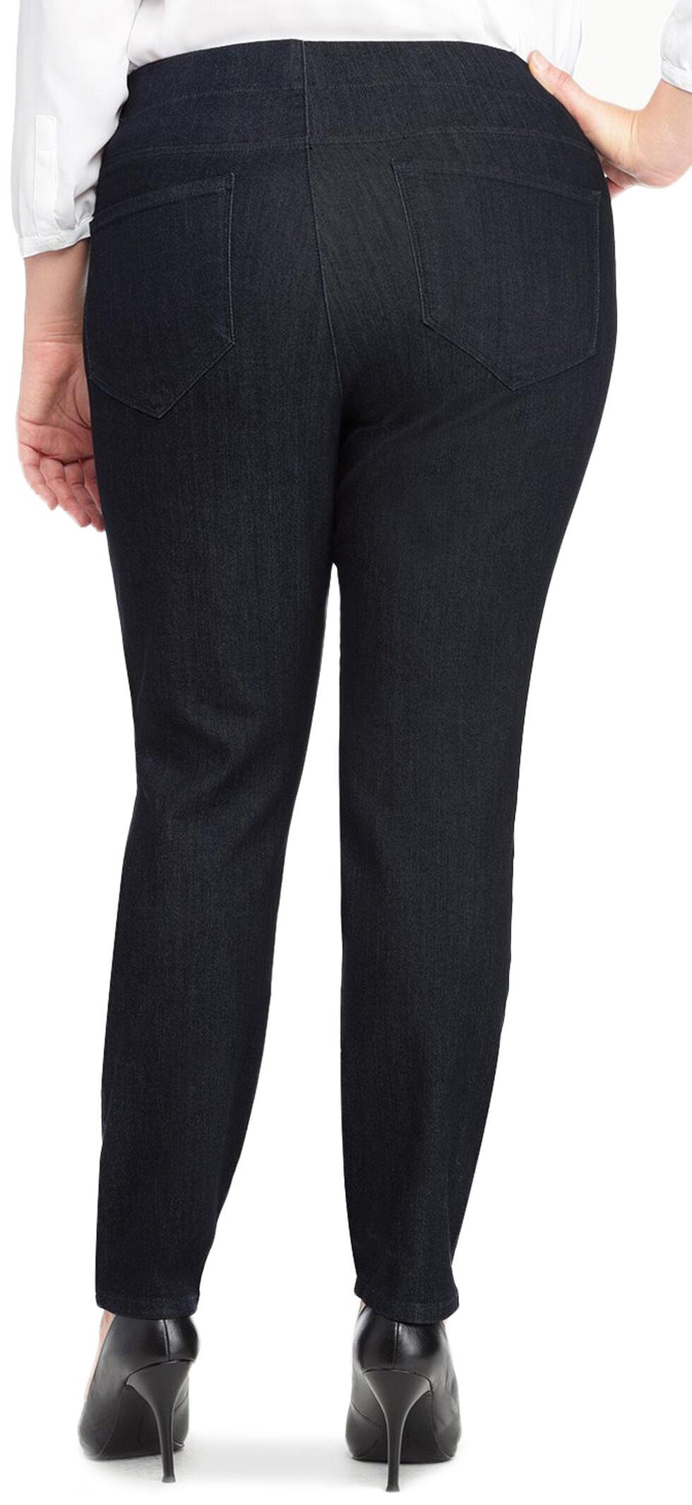 NYDJ Women's Poppy Pull-On Legging Jeans - Plus, Indigo, hi-res