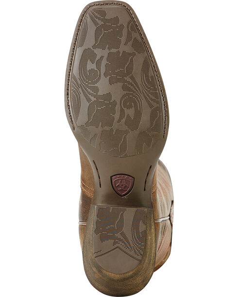 Ariat Woodsmoke Autry Performance Cowgirl Boots - Square Toe , Wood, hi-res
