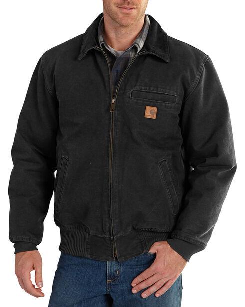 Carhartt Men's Black Bankston Jacket - Big & Tall, Black, hi-res