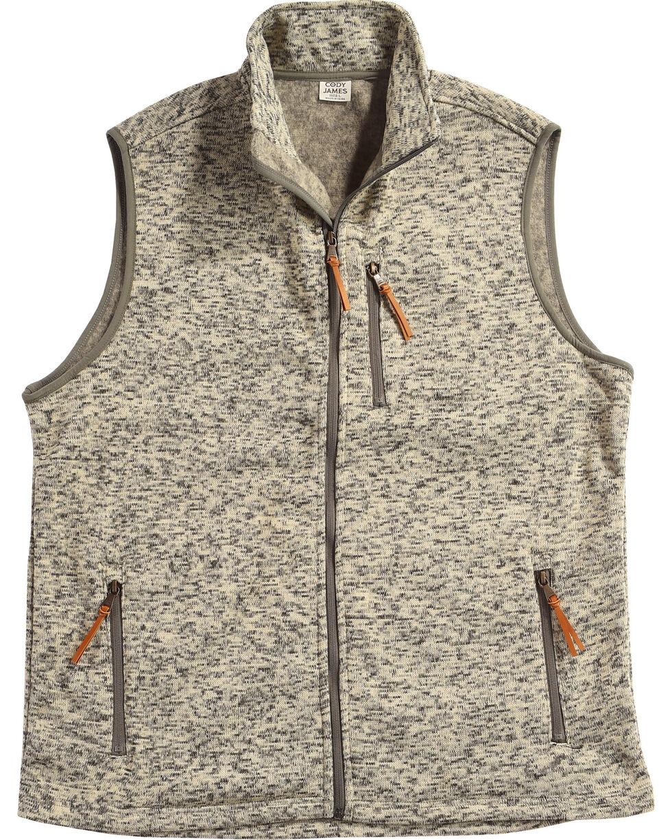 Cody James Men's Whipcrack Sweater Vest, Oatmeal, hi-res