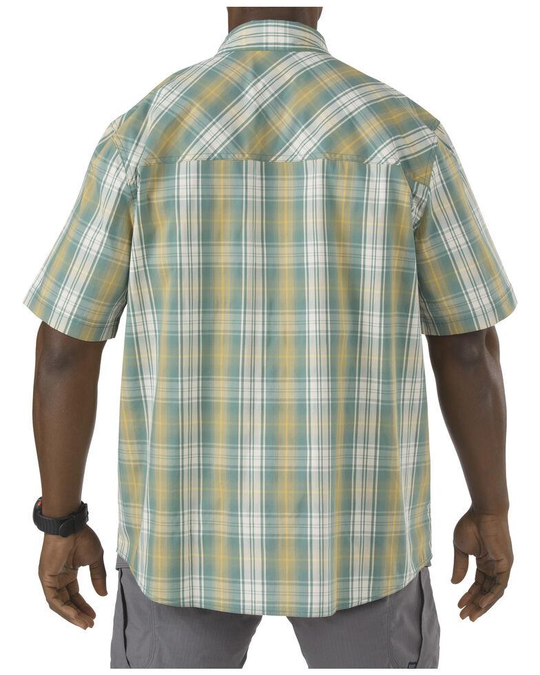 5.11 Tactical Covert Shirt - Double Flex, Green Plaid, hi-res