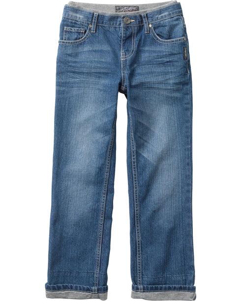 Silver Boys' Benny Straight Leg Jeans - 4-7, Denim, hi-res