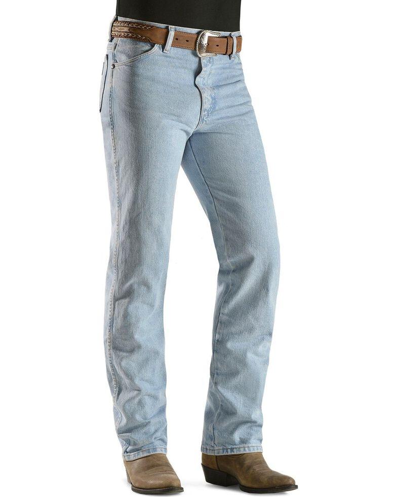 Wrangler 936 Cowboy Cut Slim Fit Prewashed Jeans, Bleach Indigo, hi-res