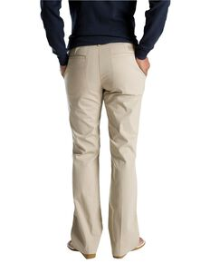 Dickies Women's Flat Front Stretch Twill Pants, Khaki, hi-res