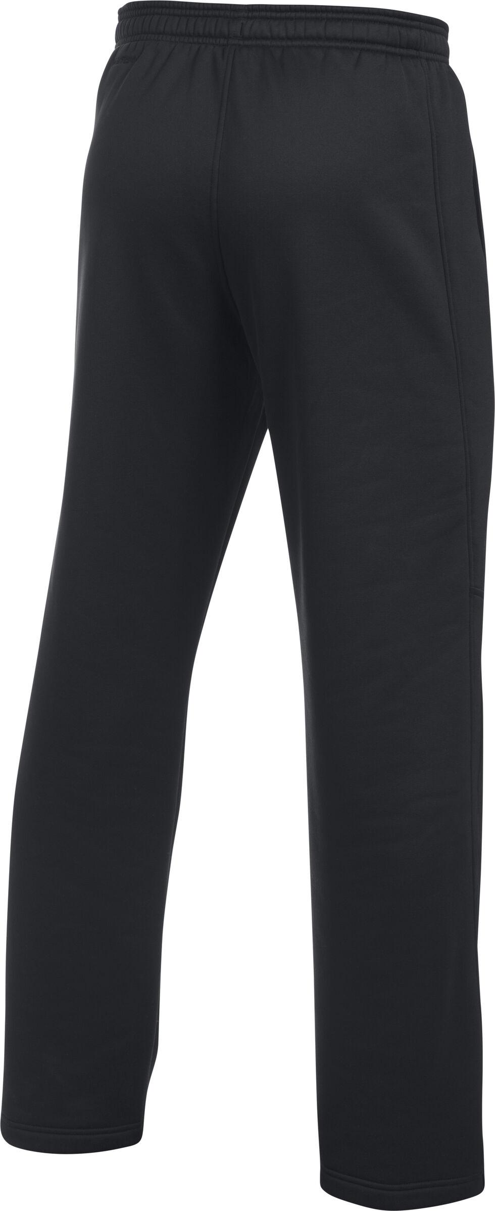 Under Armour Men's Black Storm Armour® Fleece Pants, Black, hi-res